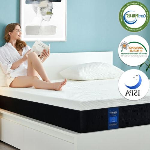 Molblly 8 Inch Size,Memory Foam CerPUR-US box