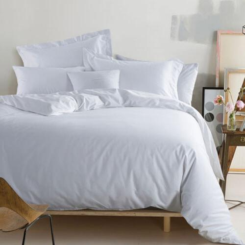Premium Cotton 4 Pieces Deep Pocket Bed Sets