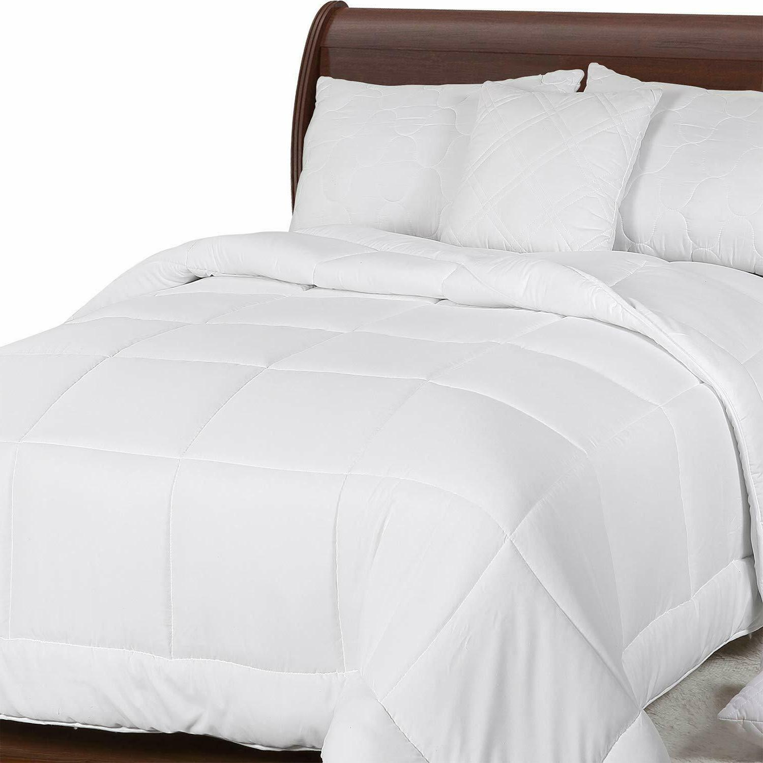 All Season Quilted Duvet Insert Style 250 GSM Bedding