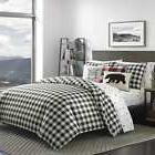 3 Piece Eddie Bauer Queen/ Full Size Comforter Bed Set Beddi