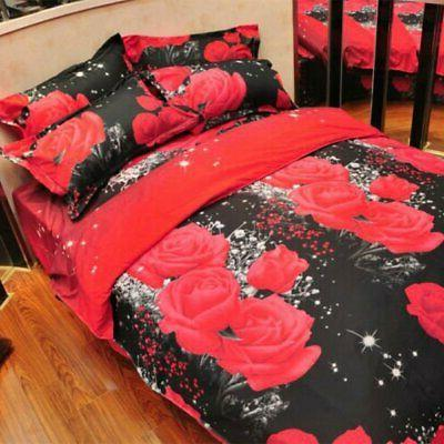 3d Home Textile Hot Pattern Queen Size Bedding
