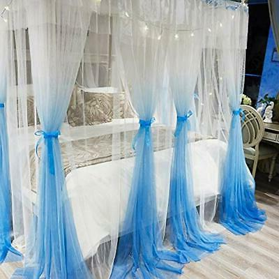 "4 Post Canopy Bed - "" Cozy Netting"