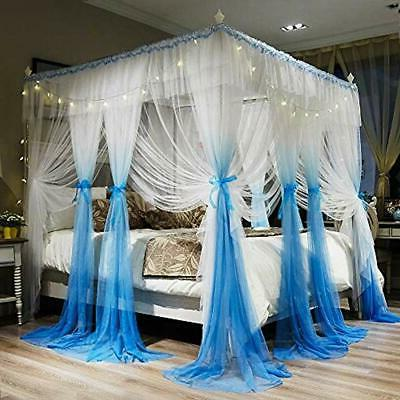 Bed Girls - Blue White Cozy Drape Netting