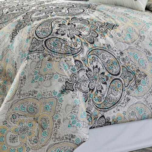 Chezmoi Paisley Scroll Set