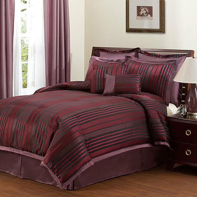 Lush Decor 8-Piece Comforter Set, Twilight