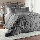 Unique Home 8pc Lucilla Pinch Pleat Comforter - Fade Resista