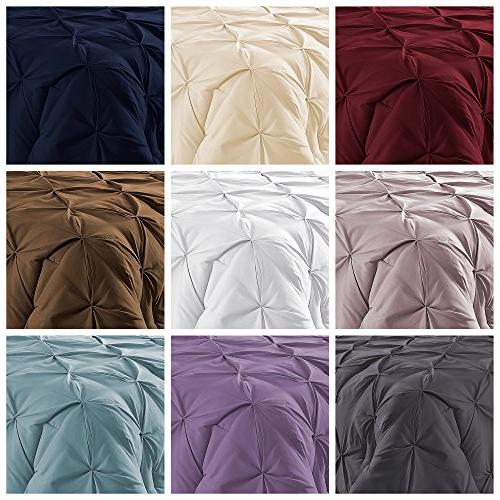 Double Durable Stitching Comfy Pleat Season Pintuck Style