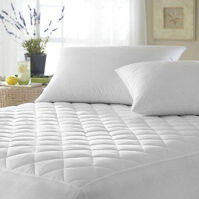 Mattress Pad Cover Waterproof Topper Protector Quilted Fitte
