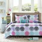 Mi Zone Carly Comforter Set Full/Queen Size - Teal, Purple ,