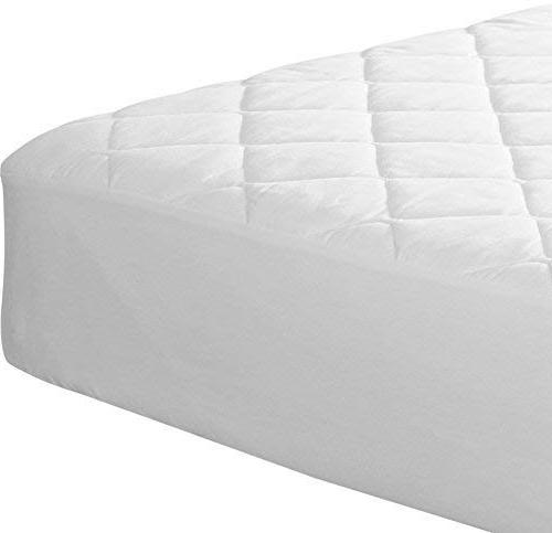 Utopia Quilted Fitted Mattress Cover Stretches up 16 Inches Deep Mattress Topper