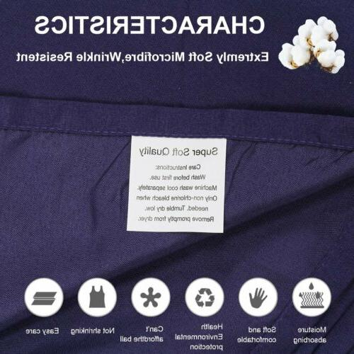 HIGHEST COUNT COTTON AND SOFT SHEETS SET POCKETS