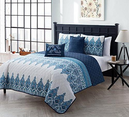 andrea polyester quilt set