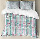 Baby Duvet Cover Set Twin Queen King Sizes with Pillow Shams