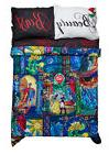 Disney Beauty & the Beast Stained Glass Comforter Bedding Bl