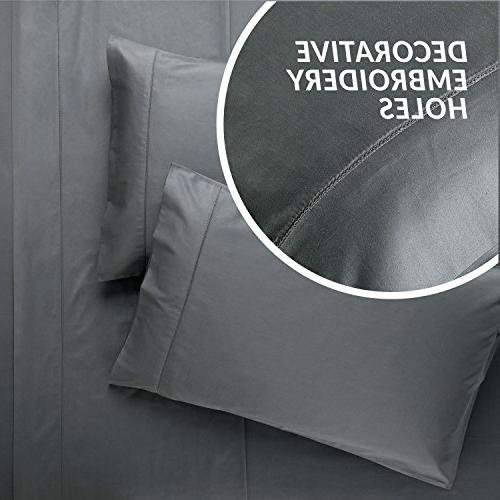 Bedsure Bed 100% Sheet Set Deep Pillowcase Set Weave