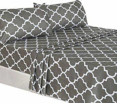 Utopia Bedding Sheet - Flat Sheet, and 2 Cases Quality Luxurious - - Washable