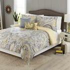 Better Homes and Gardens 5-Piece Comforter Set, Yellow Grey