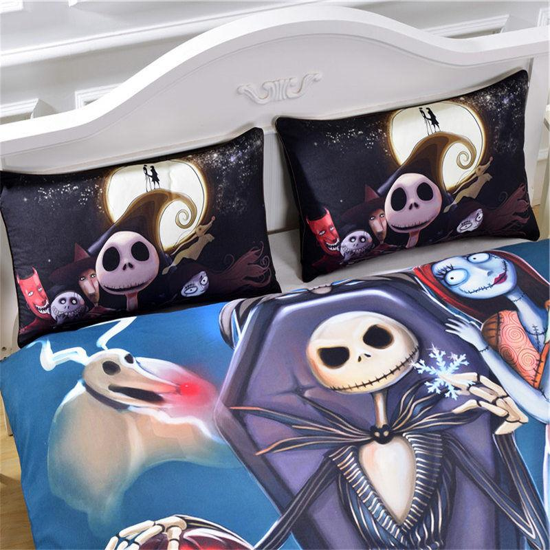 Big Sale! Nightmare Before Christmas Bedding Gift Home Uniqu
