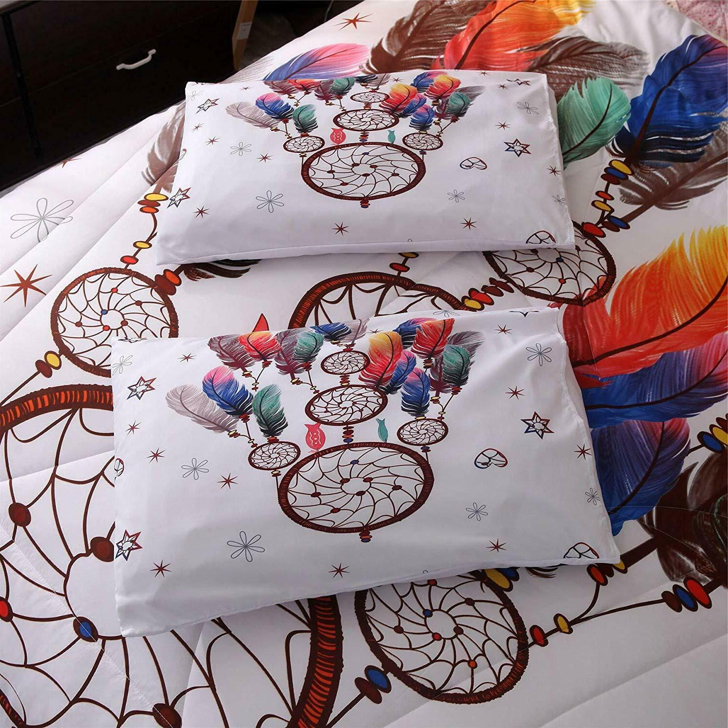 Set Boho Quilt Queen Bedding