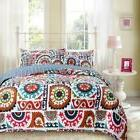 Bohemian Floral Wildfire Bedspread Set by DaDa Bedding Colle