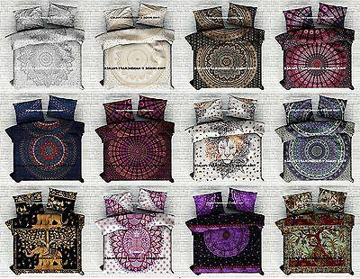 bohemian indian mandala bedding quilt duvet cover