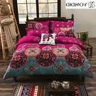 Bohemian Style Floral Printed bedding set! Twin Queen King!