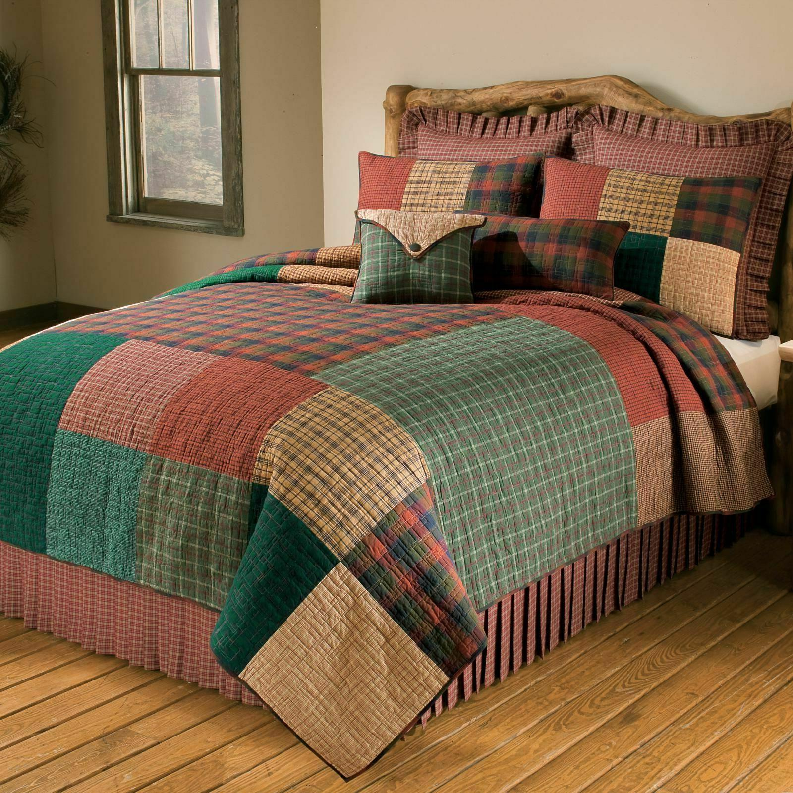 CAMPFIRE SQUARE Quilts & Accessories - Farmhouse Country Bed