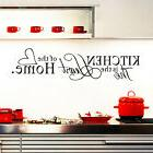 CHIC Kitchen Letter Removable Vinyl Wall Stickers Mural Deca