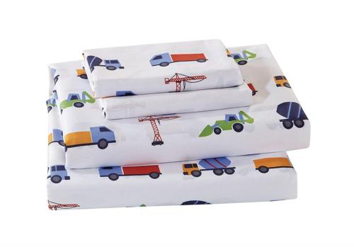 Luxury Home Collection Kids 4 Piece Queen Sheet Set Construc