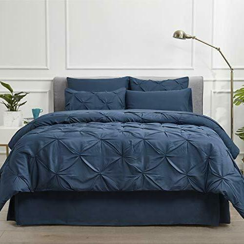 Bed A Navy Pieces - 1 Pinch