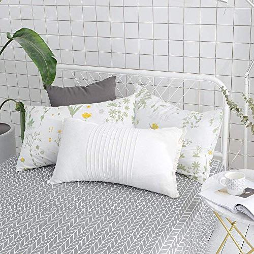 VClife Floral Duvet Cover Sets Queen Sets Branches Cover Cover Sets All Season