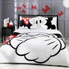 Disney Bedding Set Mickey Mouse Print Duvet Cover and Pillow