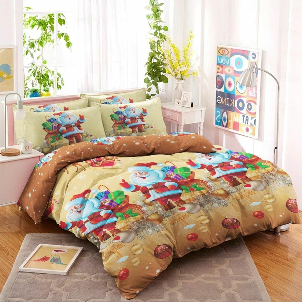 Duvet Cover Set With Pillowcase Cartoon Bed Accessory