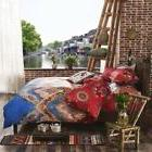Ethnic Style Bedding Sets Cotton Blend Boho Cover Full Queen