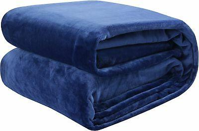 Utopia Bedding Flannel Fleece Luxury Premium Bed Blanket - P