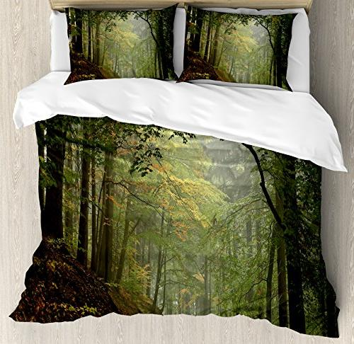 forest queen duvet cover set