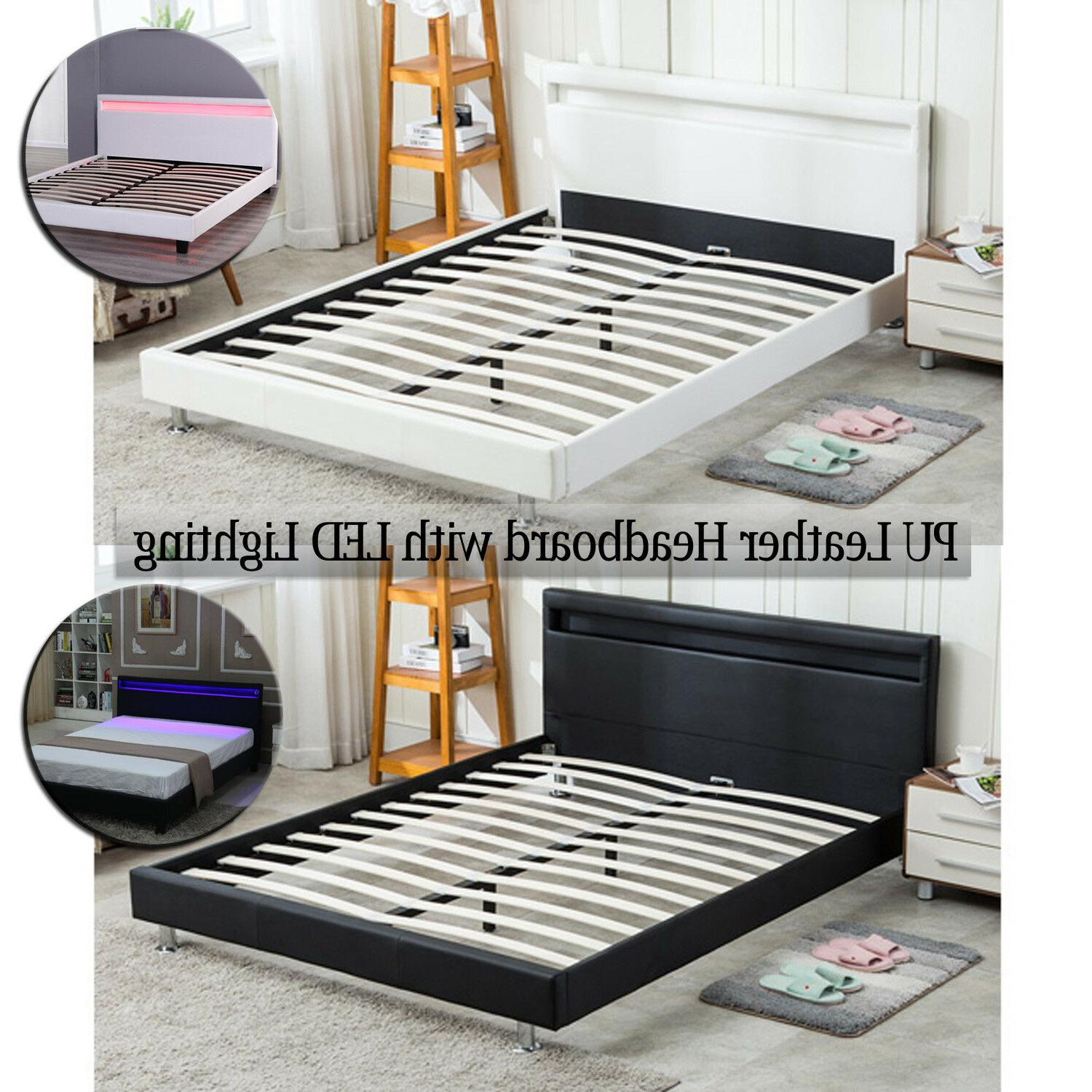 full queen size bed frame bedroom platform