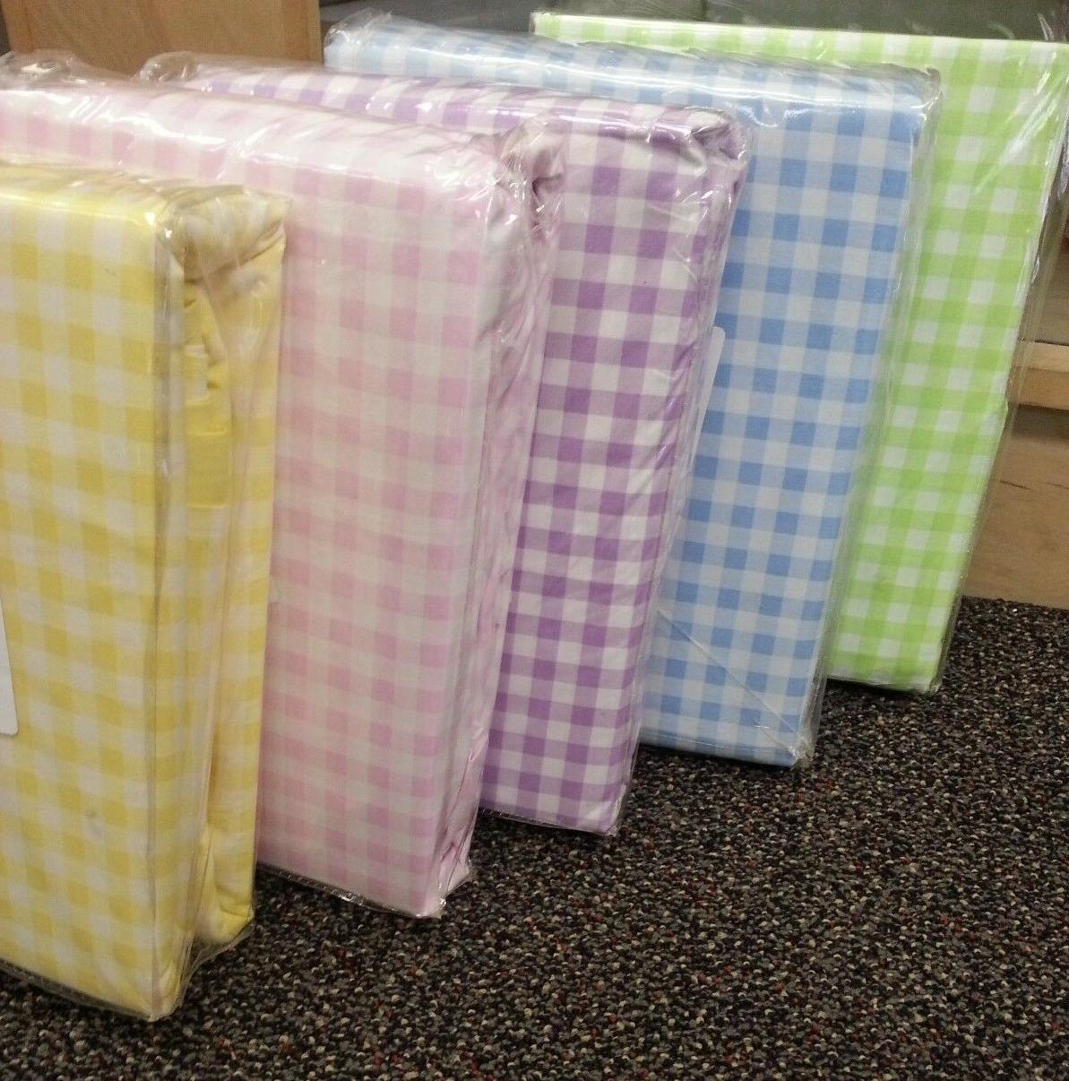 gingham percale duvet covers and bed sheets