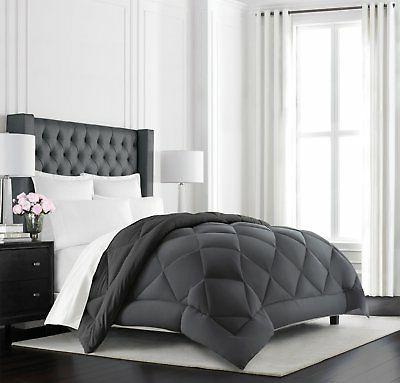 Beckham Hotel Collection Goose Down Alternative Reversible C