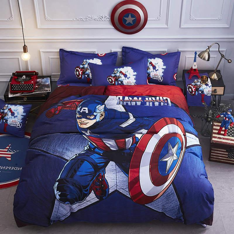 Iron man bedding comforter king