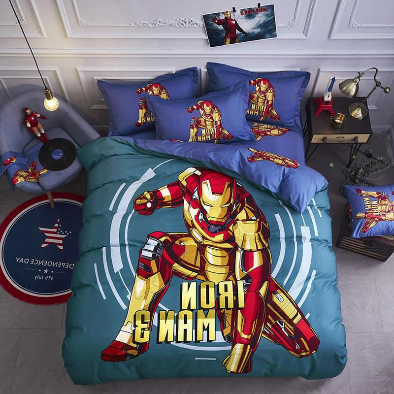 Iron comforter set king