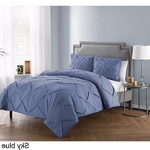 VCNY Home Comforter Ivory