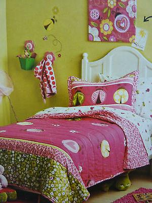 New 3 pcs Circo LADYBUGS Collection Full/Queen Quilt and Sha
