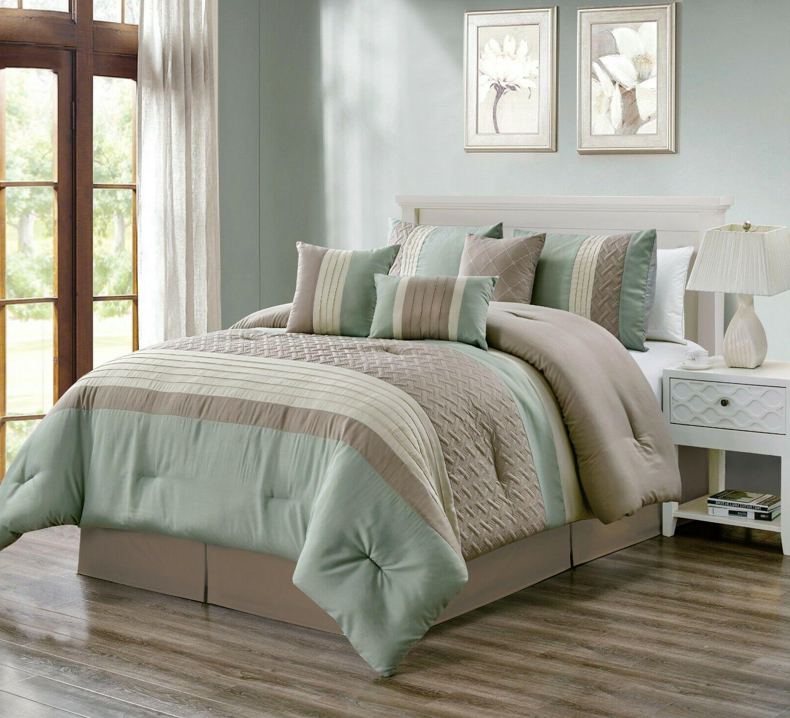 Luxury 7 Piece and Bedding Set