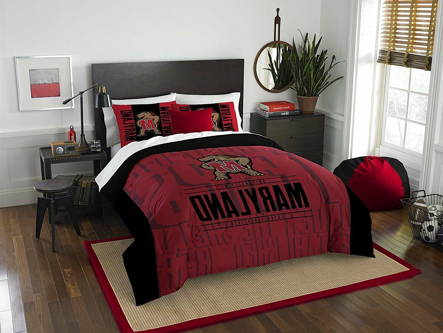 maryland terrapins bedding full queen comforter set