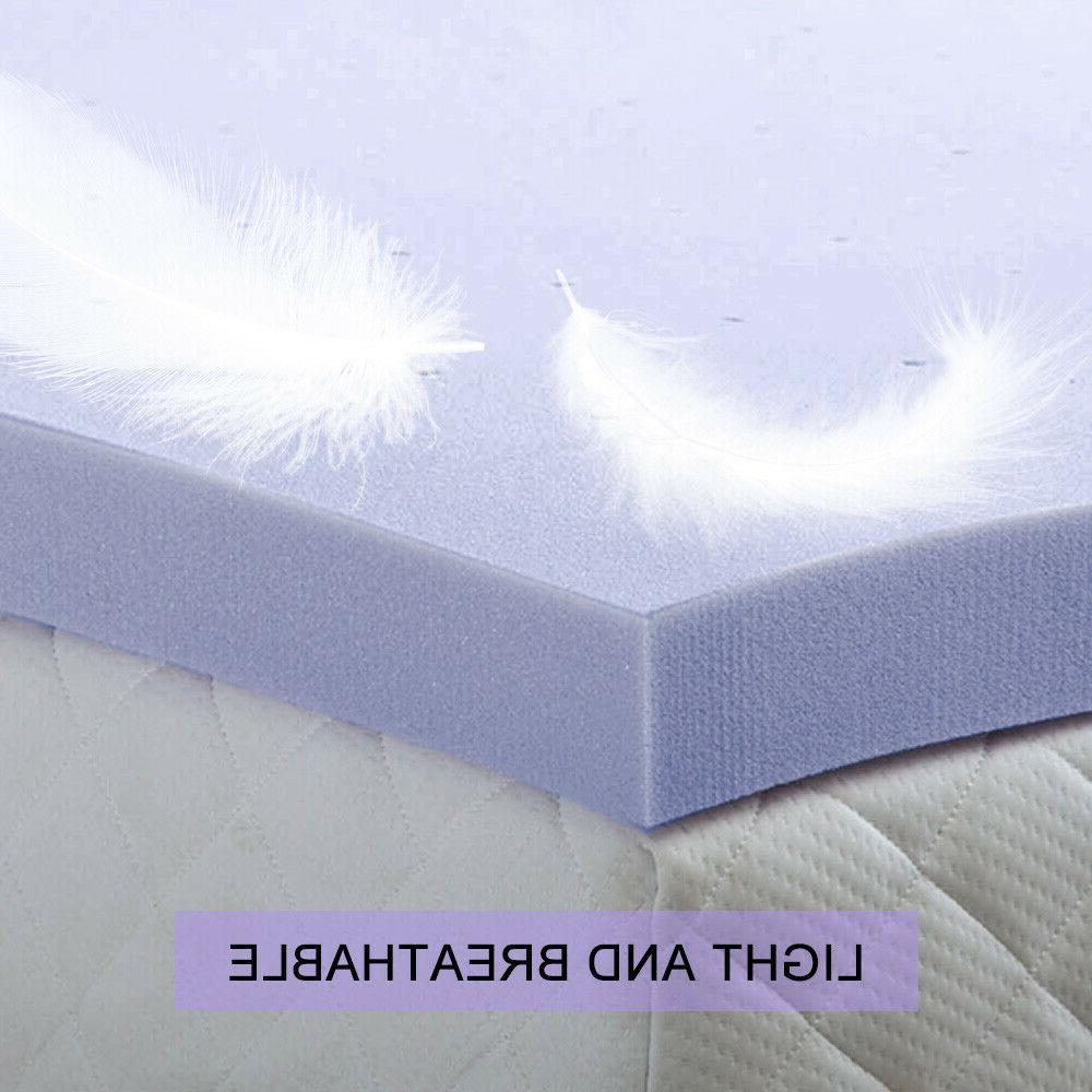 Mattress Topper 4'' Ventilated Size