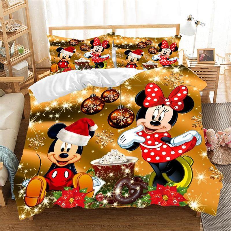 Mickey Claus <font><b>Set</b></font> Duvet Queen Nightmare Before