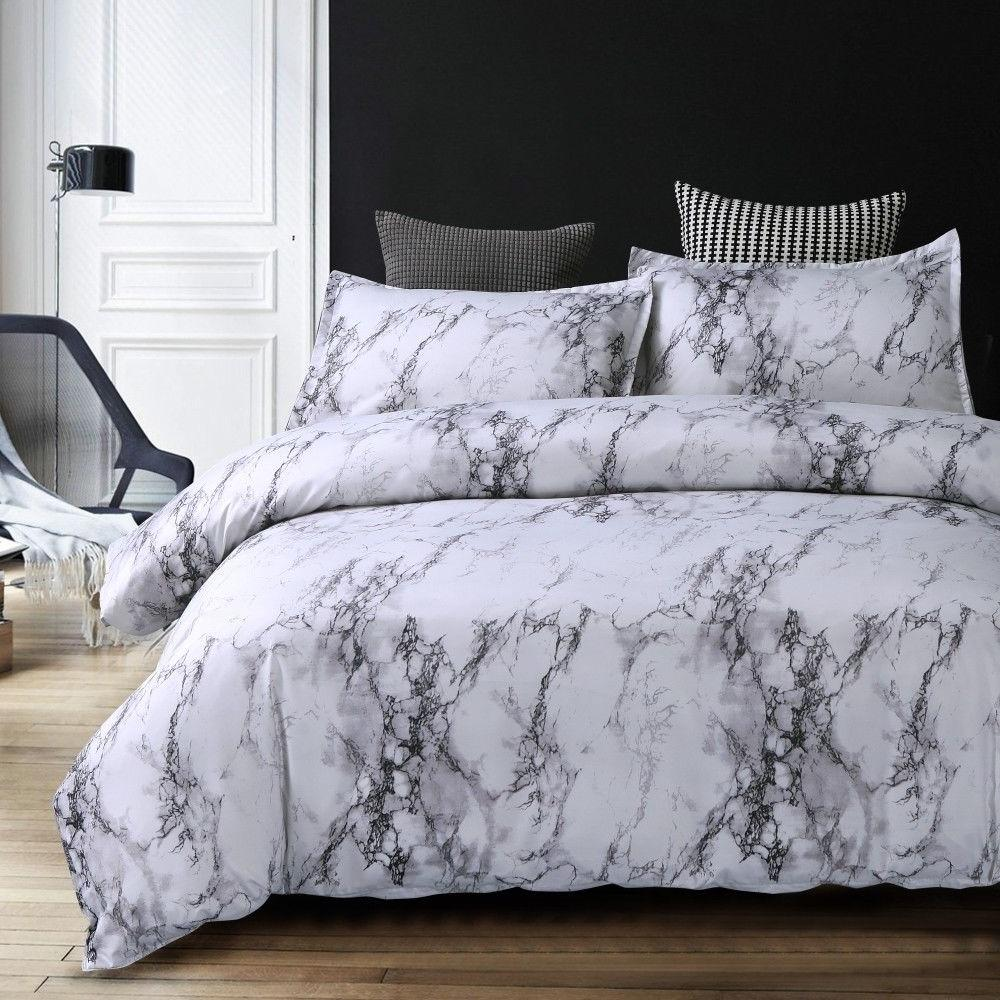 Modern Cover Marble Printed King