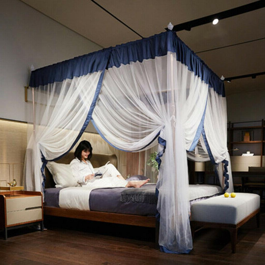 NEW Royal Luxurious Cozy Bed Canopy Bed Bed+Frame