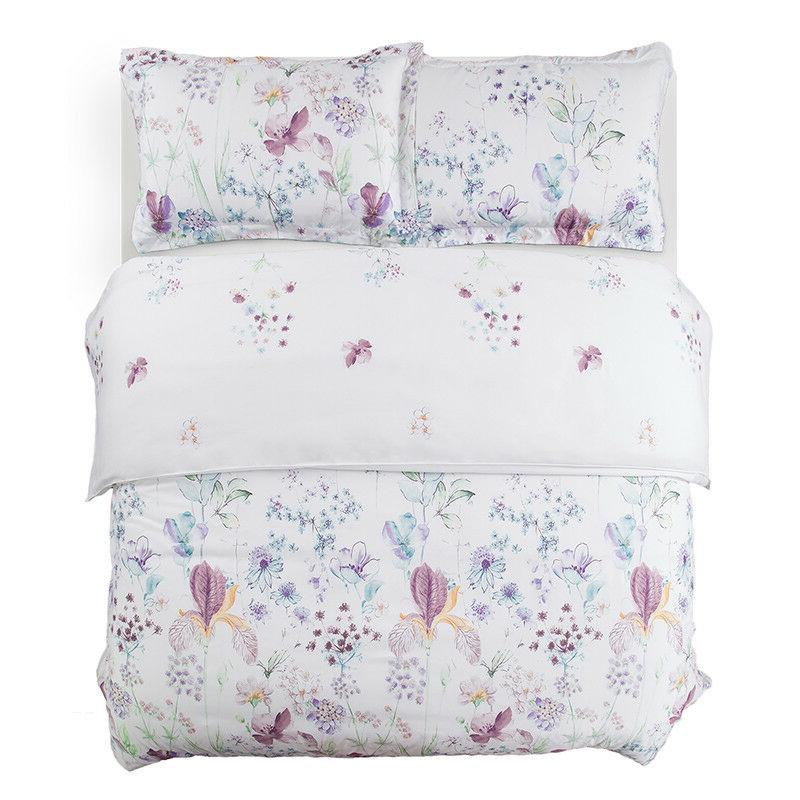Bedsure Printed Floral Duvet Cover Set Duvet Cove 3PCS Bedding